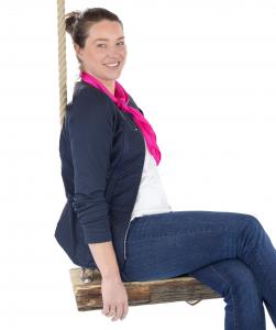 Openingsdans trainer en eigenaar Marieke van Diggele